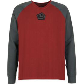 E9 Nino 2.1 Maglione Uomo, rosso/grigio